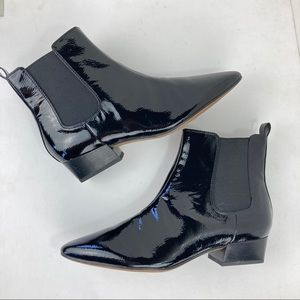 Franco Sarto Archie 2 Chelsea Boots Patent Leather